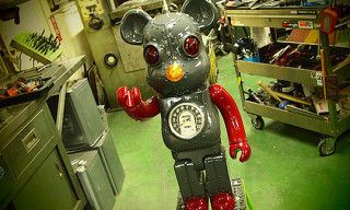 "Bearbrick ""Tin Robot"" Custom for Neighborhood"