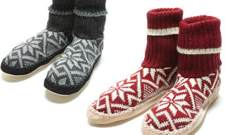 biolana Fair Isle Slippers