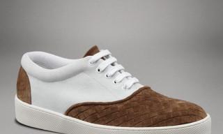 Bottega Veneta Intrecciato Suede Sneaker