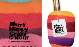 "Comme des Garcons ""Merry Happy Crazy Colour"" Perfume"