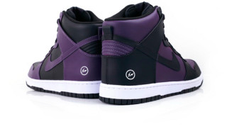 fragment design x Nike Dunk Hi Premium Black/Purple