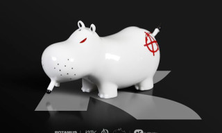 K.Olin x Kozik Potamus Anarchy Porcelain Figures