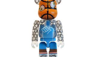 Medicom x Mark Ward 100% Bearbrick