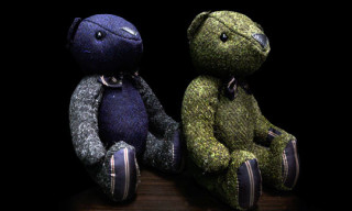 "nano universe ""Harris Tweed"" Teddy Bears"