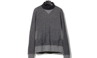 NEXUSVII x Loopwheeler Turtle Neck Sweater