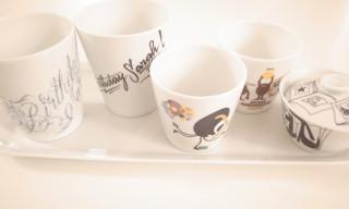 Non Sans Raison Custom Artist Porcelain Cups