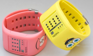 Nooka x Sponge Bob Watches by Dalek