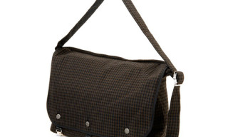Wacko Maria x Porter Gingham Messenger Bags