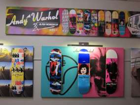 alien workshop x andy warhol skate decks round 2 highsnobiety. Black Bedroom Furniture Sets. Home Design Ideas