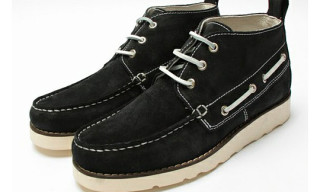 Beauty & Youth United Arrows Suede Deck Boots