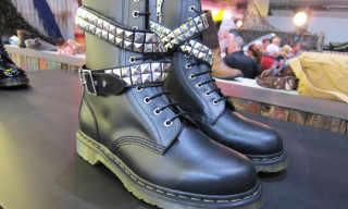 izzue x Dr Martens Studded Boots