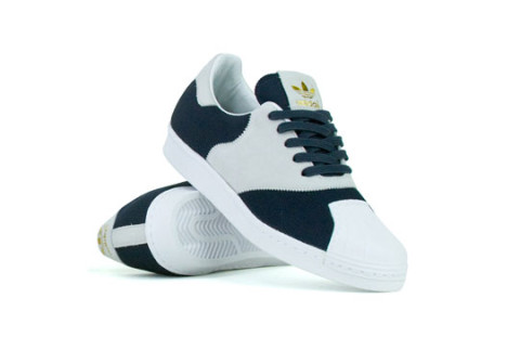 lowest price 0d2d8 1c7cf An interesting new sneaker has released from the adidas Originals by  Originals David Beckham SpringSummer 2011 Collection. The classic Superstar  was turned ...