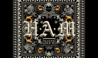 "Kanye West x Jay-Z – ""H.A.M."" Single Cover Art By Riccardo Tisci"