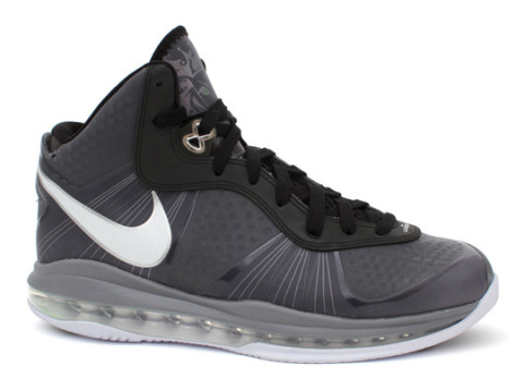 lebron 8v2. the new nike lebron 8 v2 basketball sneaker has released in a cool grey colorway this week. next to south beach version, is our opinion 8v2