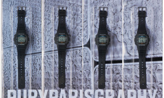 "Simon de Pury x colette x G-Shock ""PURYPARISGRAPHY"" Watches"