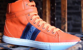 Barker Black High-Top Sneakers Spring/Summer 2011