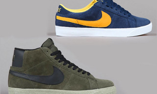 Nike SB Blazer & Blazer Low CS March 2011