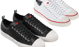 adidas Originals by Originals Kazuki Flower Leather Sneakers
