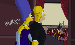 Banksy and The Simpsons and The Oscars