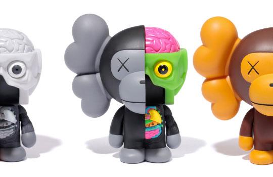 "Bape X Kaws >> Bape x Original Fake ""Kaws Milo"" Figure - Another Look | Highsnobiety"