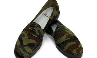 Beams Plus Camo Loafers
