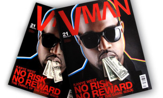 Kanye West On VMAN Spring 2011 Issue
