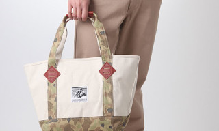 Mountain Rainier Design Works Camo Zip Tote Bag