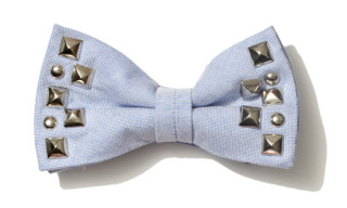 uniform experiment Studded Bow Tie