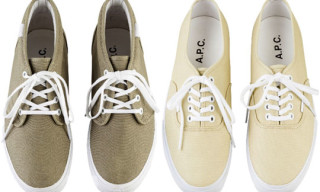 A.P.C. x Vans Spring/Summer 2011 – Authentic LX & Chukka LX