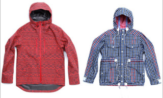 White Mountaineering Gore-Tex Primitive Pattern & Check Field Jackets