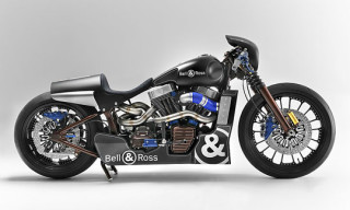 Harley-Davidson x Bell & Ross BR 01 Carbon Motorcycle