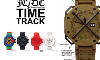 """Jean-Charles de Castelbajac """"Time Track"""" Watches"""