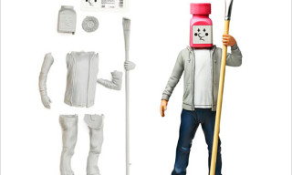 Jun Watanabe 'Mr. Bottle Head' Toy