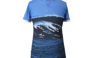 Band of Outsiders x LeRoy Grannis Photo Print Polo Series