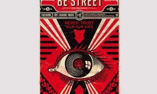 Be Street Issue 12 – Cover by Shepard Fairey