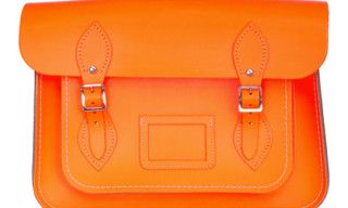 Cambridge Satchel Company Fluo Bag Series for Dover Street Market