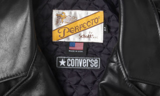 "Converse x Schott NYC ""Friends & Family"" Perfecto Jacket"