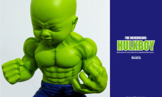 "Garageworks Industries x Ron English ""Hulkboy"" Sculpture"