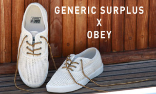 Generic Surplus for Obey Mesh Borstal Sneakers