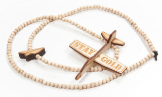 Good Wood x Benny Gold Glider Pendants