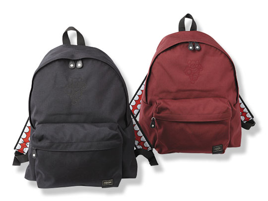 Original fake x porter chum canvas backpacks highsnobiety for Bape x porter backpack