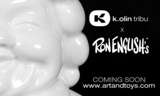 K.Olin tribu x Ron English McSupersized Porcelain Edition