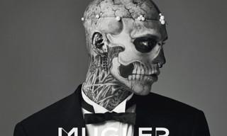 MUGLER Mens Fall 2011 Image Campaign