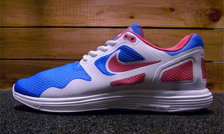 Nike Lunar Flow White/Pink/Blue