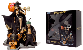 One Piece x mastermind Japan Toy Set