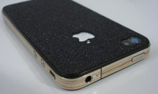 SlickWraps Board Series Black Grip Tape iPhone Case