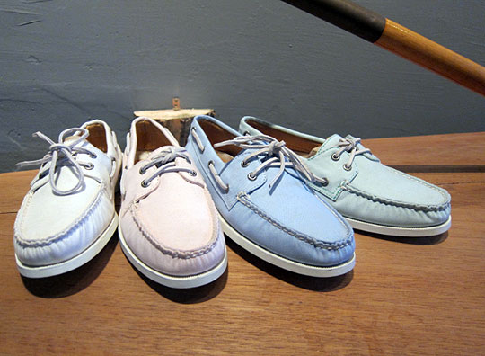 Sperry Top-Sider Canvas Boat Shoe Pastel Pack   Highsnobiety