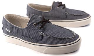 Vans California Zapato Del Barco Pinstripe Pack
