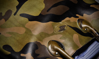 Vanson x Junya Watanabe MAN Camouflage Leather Bag