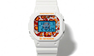 A Bathing Ape x G-Shock 'Baby Milo' Watch